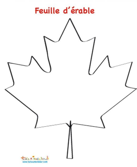 coloriage mosaque de la feuille drable du drapeau canadien