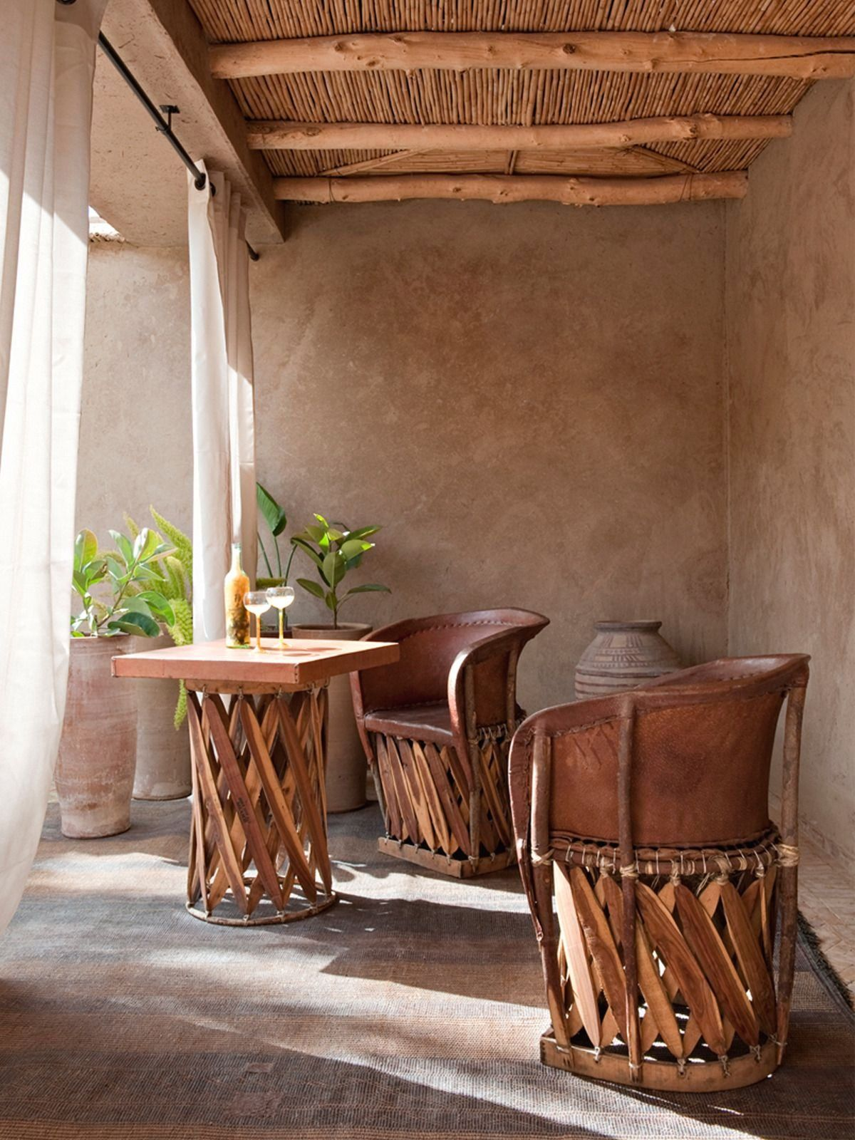 sabonhomeblog   1000 in 2020   Outdoor decor backyard ... on Mexican Backyard Decor id=86050