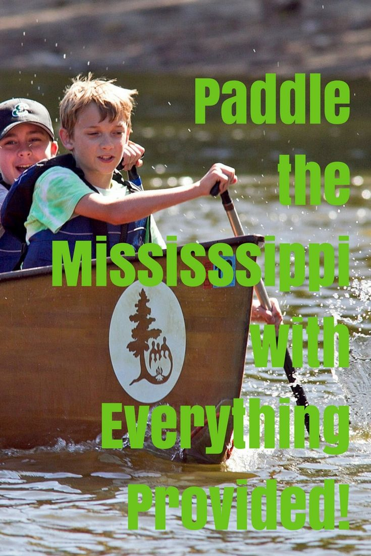 Paddle The Mississippi With Everything Provided With