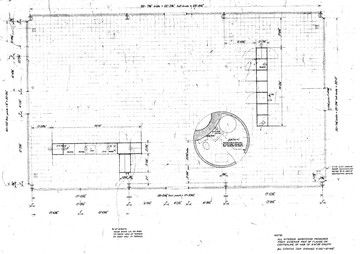 The Glass House Glass House Floor Plan Courtesy Of The Glass House Http Philipjohnsonglasshouse Org