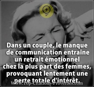 Manque De Communication Dans Le Couple Citation Saviez