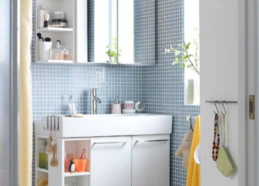 Great ideas for the bathroom we want to add off the laundry room -  small-space-solution-bathroom-2011-ikea-bathroom-design