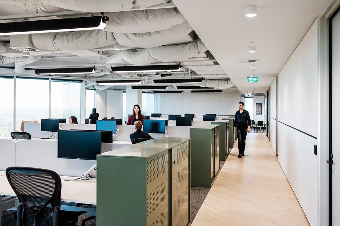 Design To Change Office Culture Gray Puksand S Ncr Hq Indesignlive Office Culture Office Open Plan Interior Architecture Design