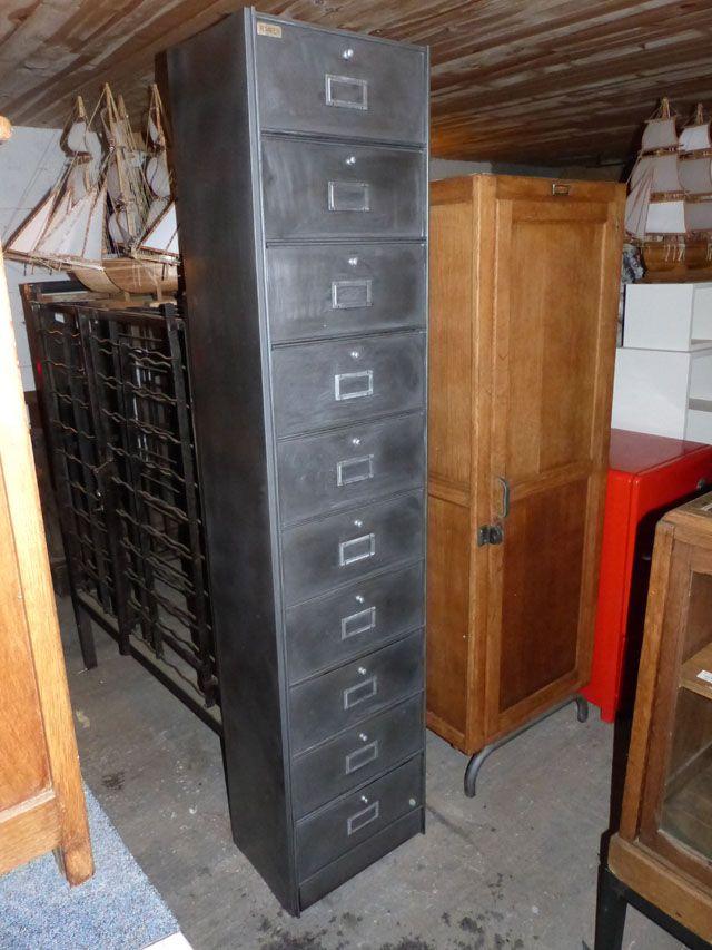 Brocante Tendance Mobilier Industriel Vintage Decape Meubles Industriels Armoire Metallique Industriel
