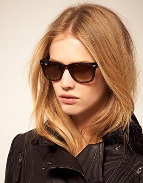 dec52ad39f1f5 Ray-Ban Folding Wayfarer Sunglasses in tortoise £140 from Asos ...