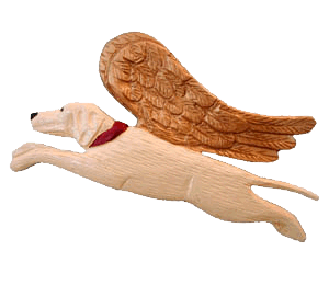 Yellow Lab Dog Angel. I really want this because my doggie is gonna die soon T_T