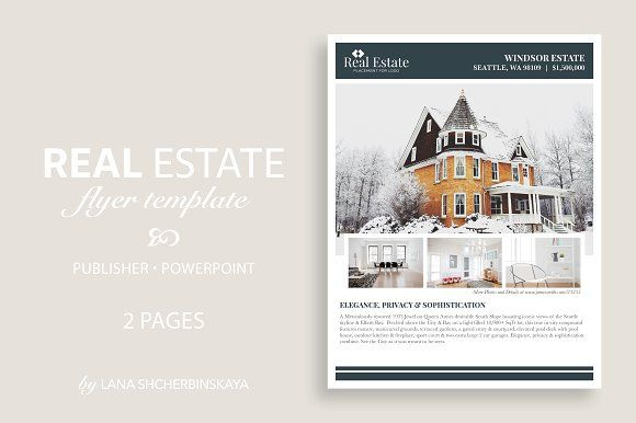 Real Estate Flyer Template No Real Estate Flyers Flyer Template - Microsoft publisher real estate flyer templates