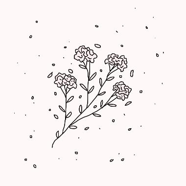 Etre Libre Aesthetic Drawing Flower Doodles Doodle Png