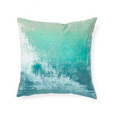 Ombre Velvet Pillow Stuff I Like Velvet Pillows Turquoise Pillows Pillows