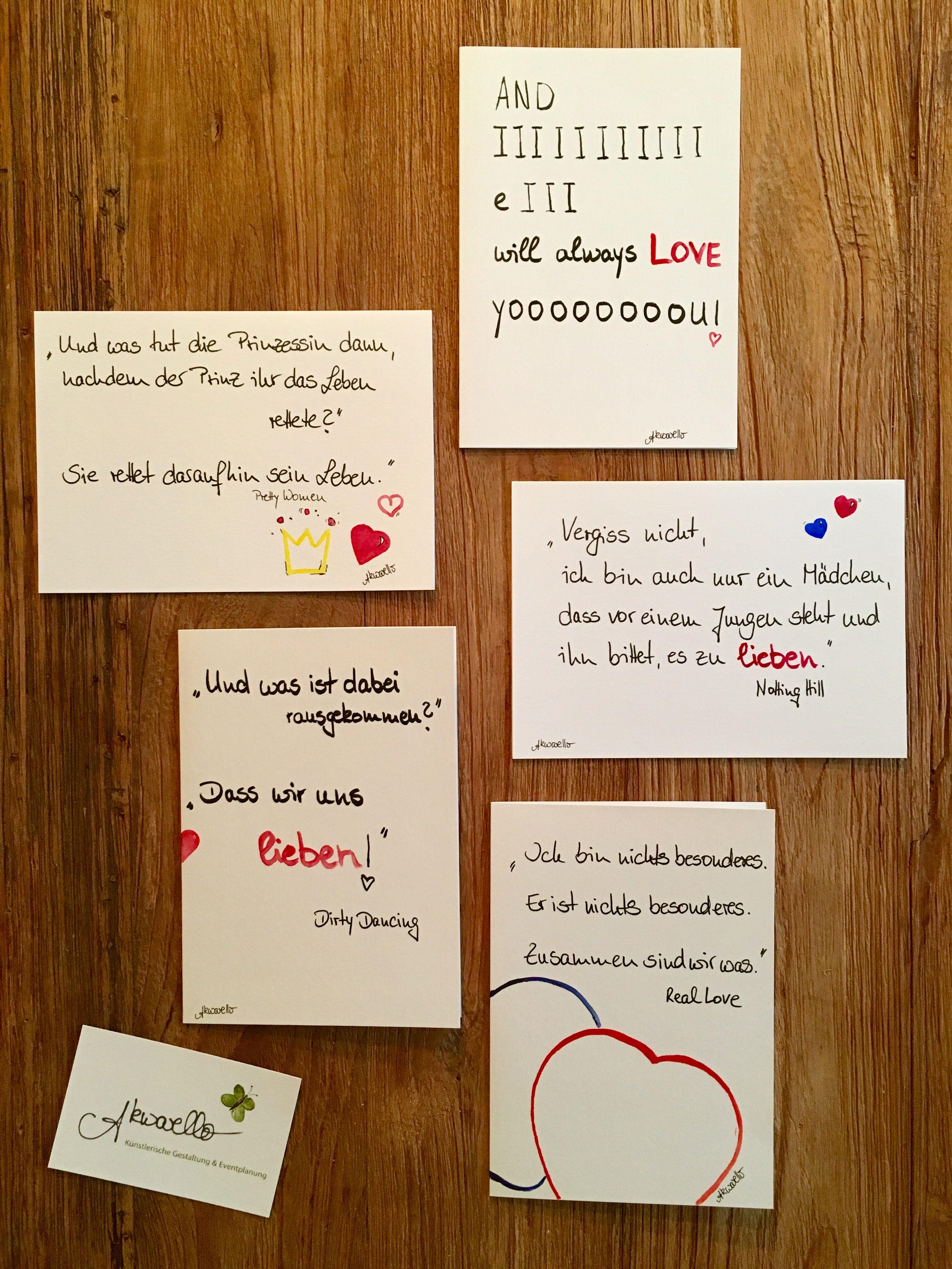 Geschenk · Valentineu0027s Day   Romantische Filmzitate. #love#valetinesday# Valentinstag#liebe#hochzeit