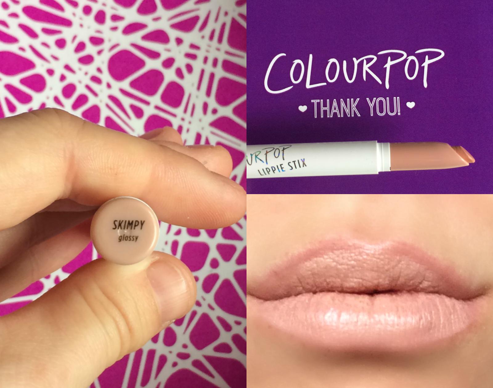 ColourPop Skimpy Colourpop, Colourpop cosmetics, Cosmetics