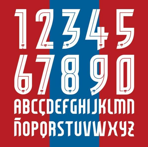 Conrad Burry On Twitter Sports Fonts Jersey Font Numbers Font
