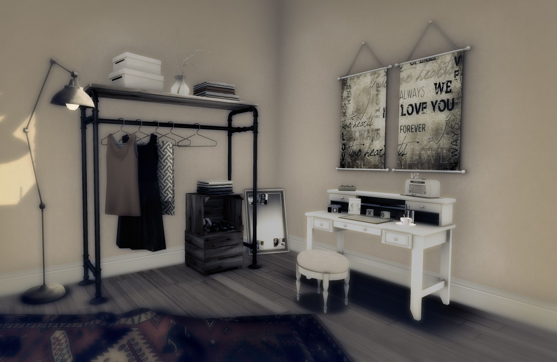 Clothes Rack In Bedroom  Google Search