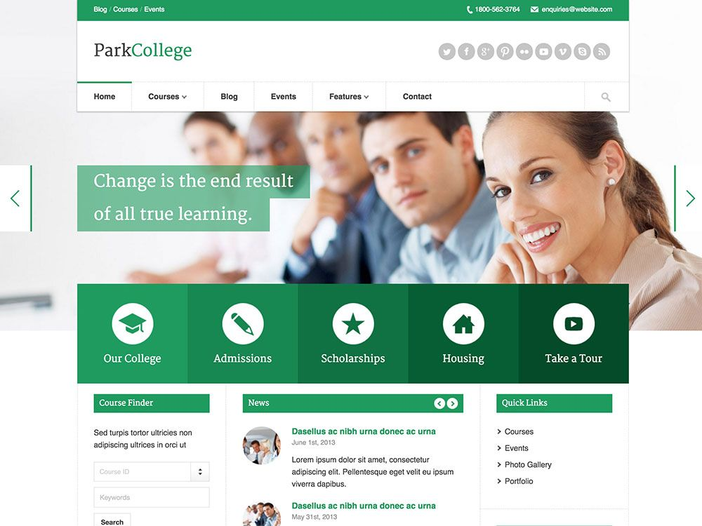 30 best education wordpress themes 2016 athemes morgue file 30 best education wordpress themes 2016 athemes college websiteschool pronofoot35fo Images