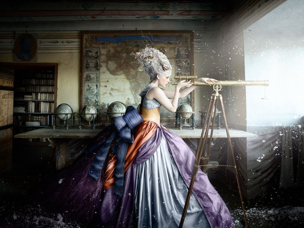 Alexia Sinclair - An artist who puts a whole story into one picture A Frozen Tale, A 17th Century Fantasy Photo Series Shot in a Swedish Castle
