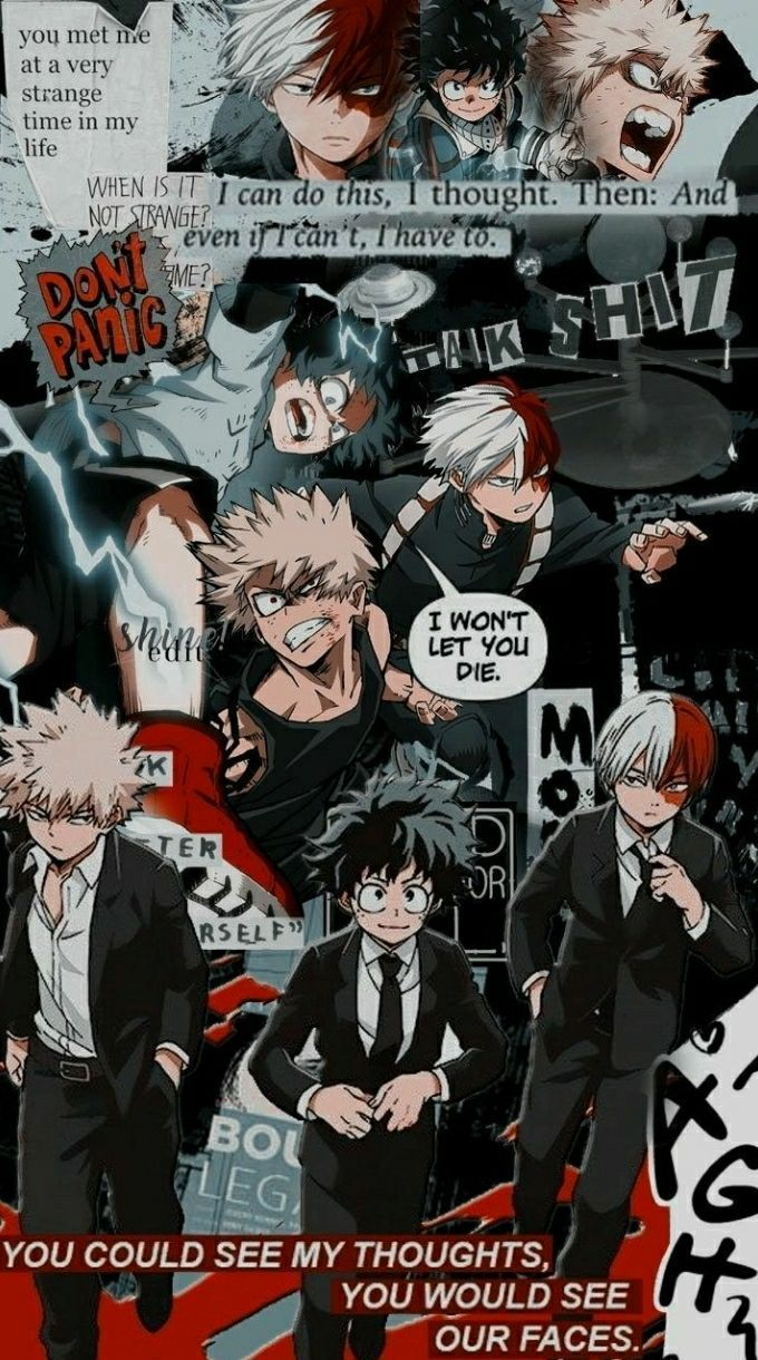 mha memes/pictures - #25 (wallpapers)