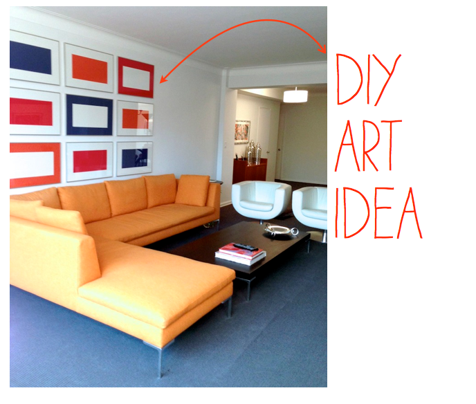 DIY art idea