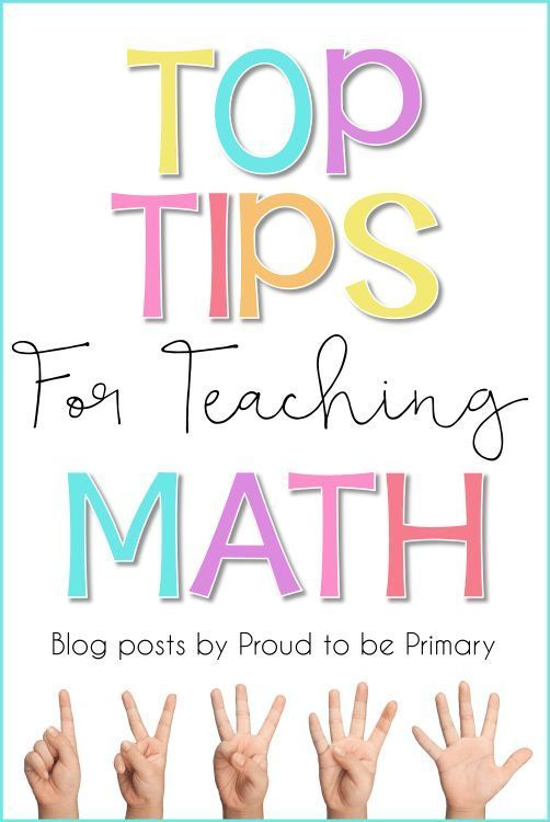 Blog posts with top tips for teaching math in the primary grades by Proud to be Primary. Includes lessons on building math fluency, math games and activities, engagement, and more.
