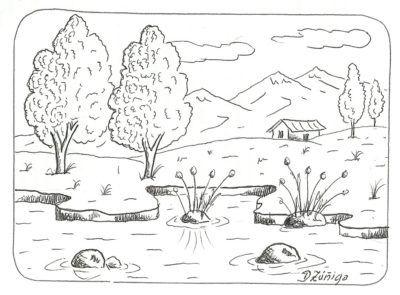 Dibujos De Paisajes De La Sierra A Dibujar En 2019
