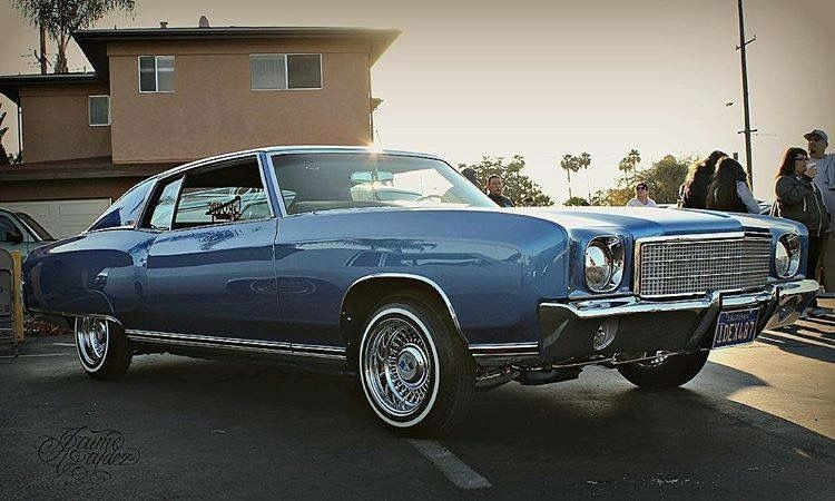 Classic Rims With Images Chevrolet Monte Carlo Lowrider Cars