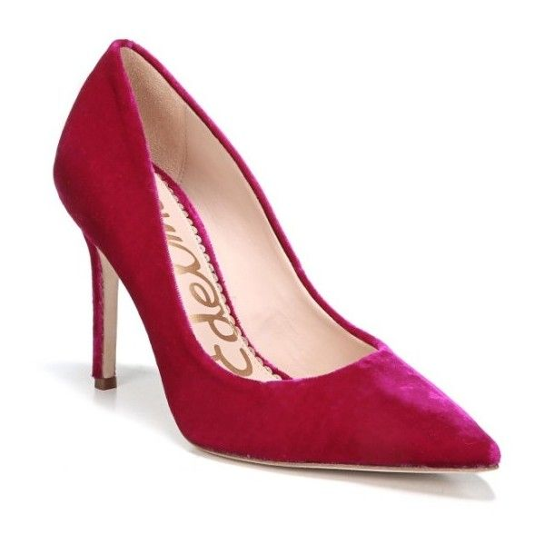 ef7b35c26 Women s Sam Edelman Hazel Pointy Toe Pump (7.175 RUB) ❤ liked on Polyvore  featuring
