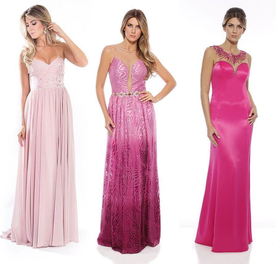 20 vestidos de festa cor de rosa | Fantasy gowns, Punk and Gowns