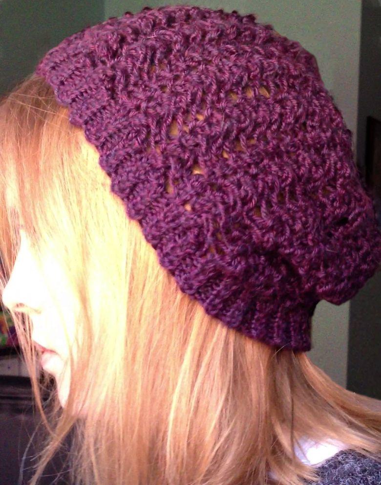 Free Hat Pattern For A Bad Hair Day Crochet Hat Pattern Crochet