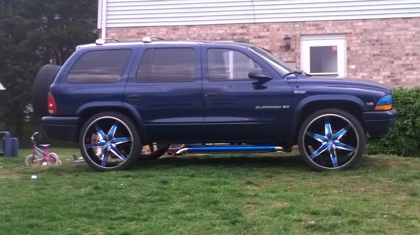 99 dodge durango slt 4x4 5 2l 318 custom 5th wheel edition custom true dual patriot side exhaust. Black Bedroom Furniture Sets. Home Design Ideas