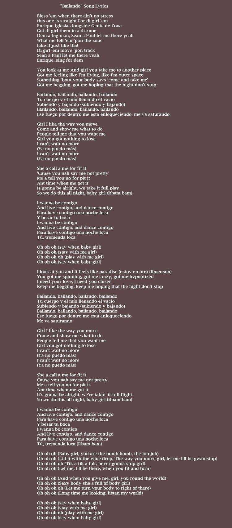 Lyrics Oh Baby You Got What I Need : lyrics, English, Lyrics, Music, Videos