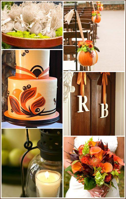 Chic Autumn Wedding