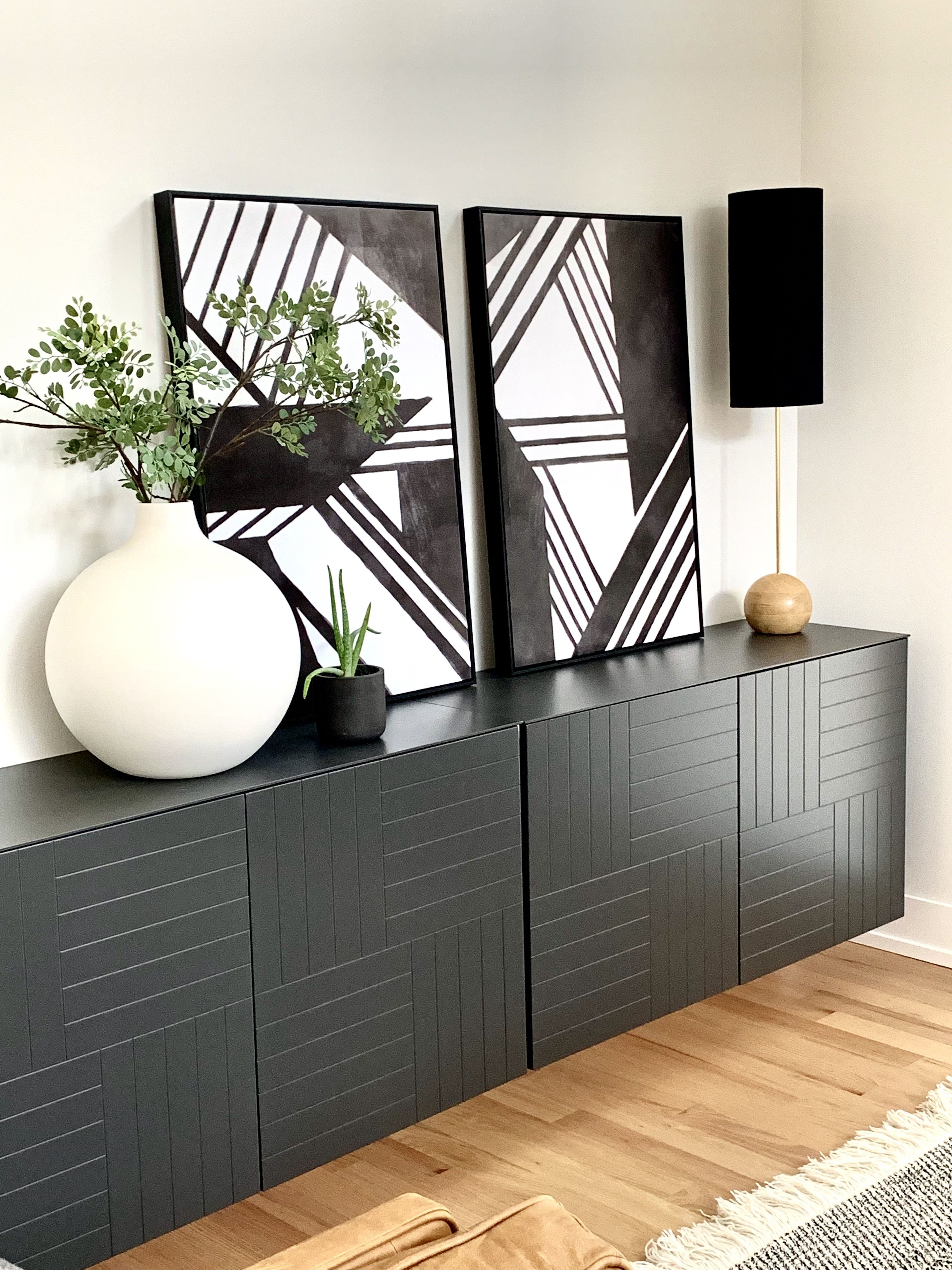 Mid Century Modern Sideboard Decor