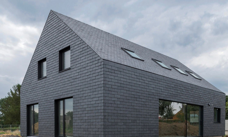 Hardscaping 101 Slate Roofing Tiles Gardenista Slate Roof Tiles Roof Cladding Slate Roof
