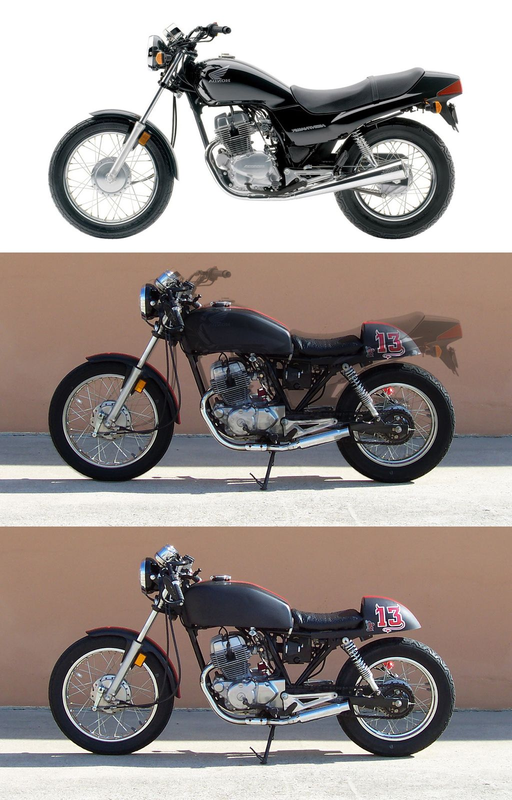 Honda Cb 250 Two Fifty Cafe Racer Flickr