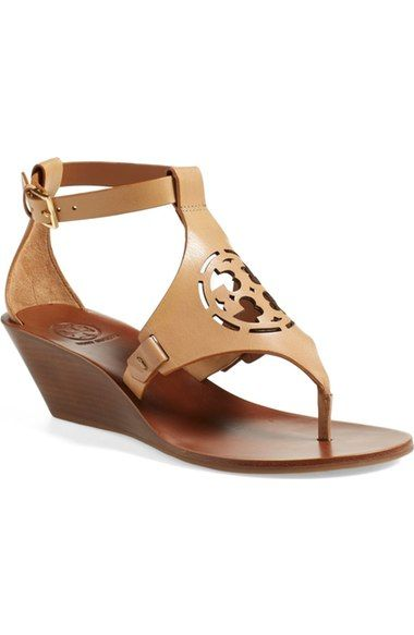 Tory Burch Tory Burch 'Zoey' Wedge Sandal (Women) available at