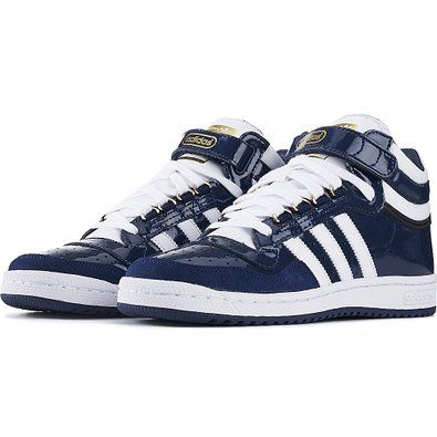 low priced d7b40 bb3c9 Amazon.com NEW MENS ADIDAS ORIGINALS CONCORD II MID PATENT-LEATHER  Clothing