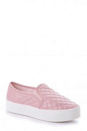My Way Or The Highway Pink Slip On Sneakers at reddressboutique.com