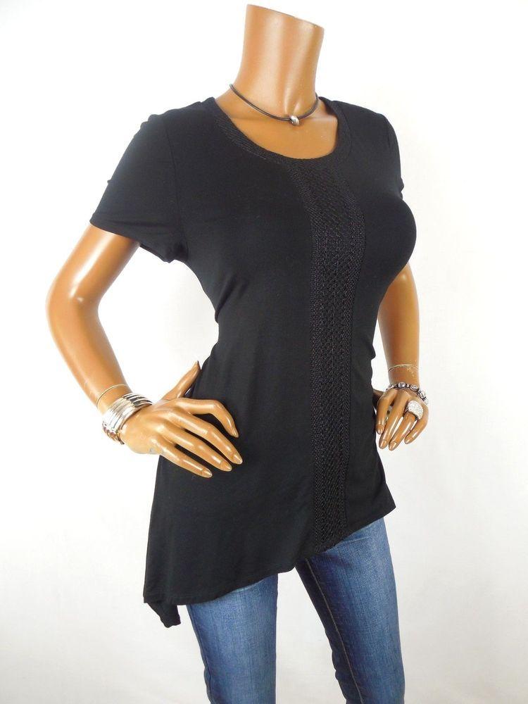 Adrianna Papell Black Shirts