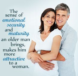 What is considered dating an older man