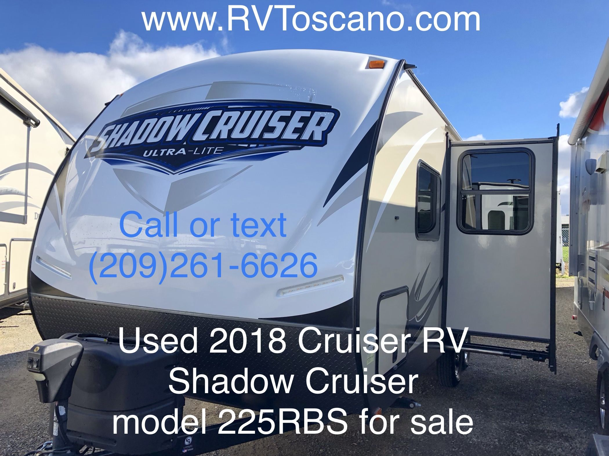Barely Used 2018 Cruiser Shadow Cruiser 222rbs Travel Trailer Call