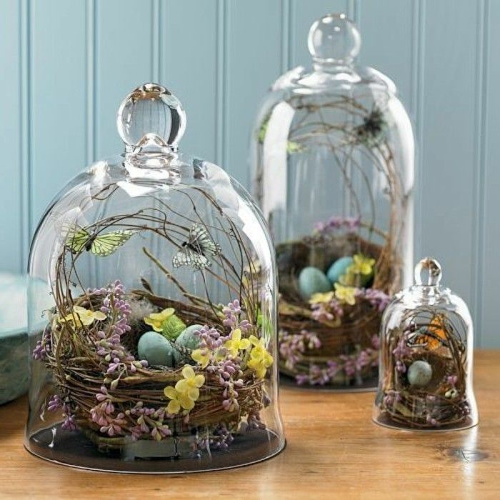 40 Christmas Decorate For The Holidays With Bell Jars Idéés Amazing Bell Jar Decorating Ideas