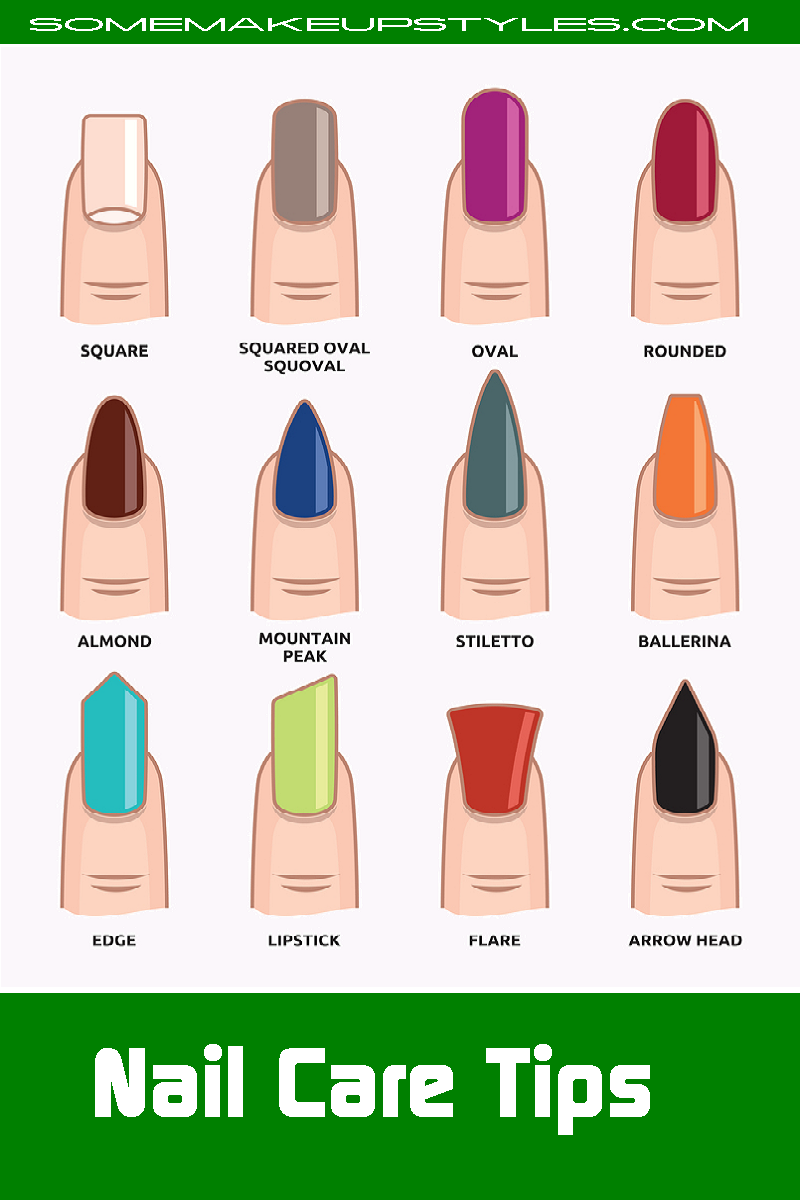 Leave Your Nails Without Nail Polish Occasionally At Least In Order To Allow Them To Breathe Nailcareti Nail Shapes Acrylic Nail Shapes Different Nail Shapes