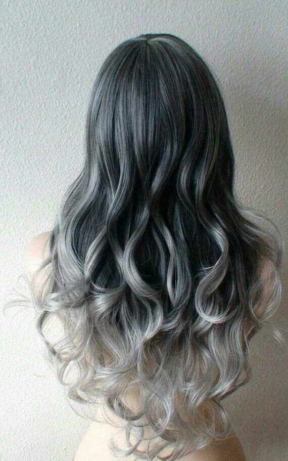 Pin By Janet On Light Blue Highlighs Hair Hair Styles Ombre Hair