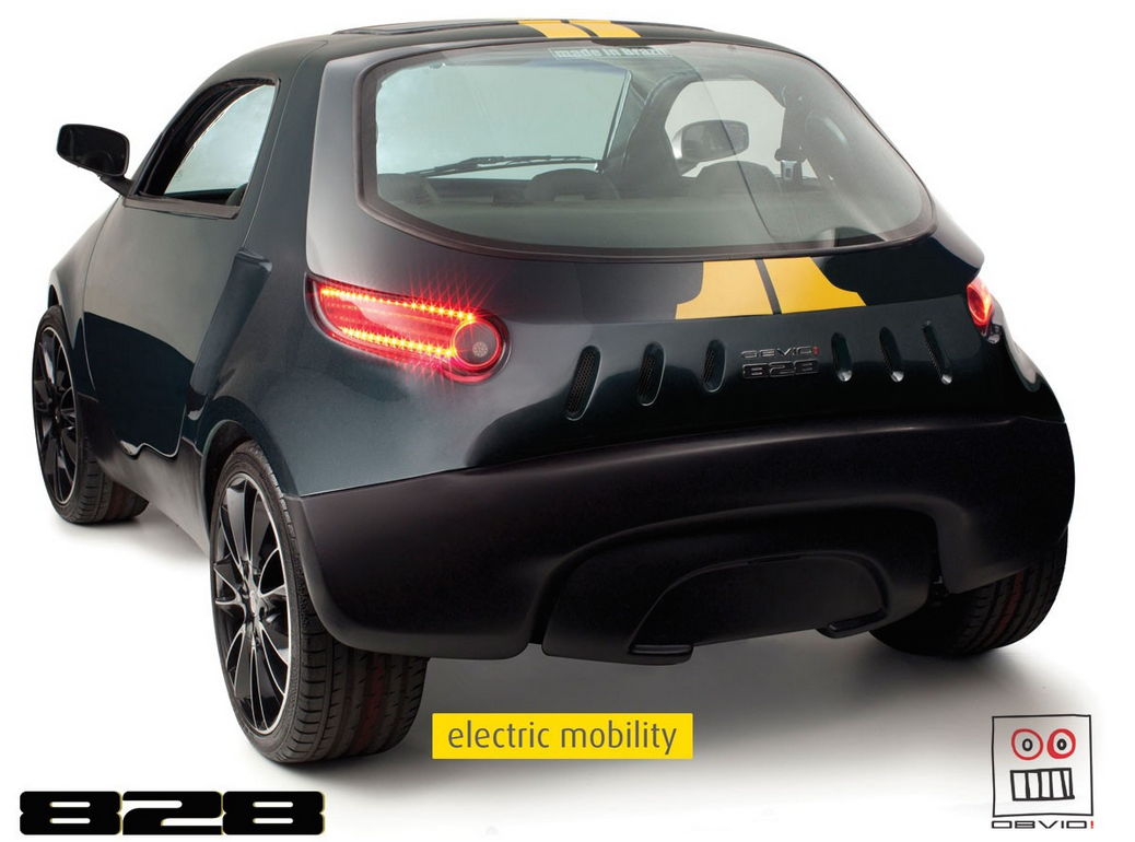Obvio 828 Carro Eletrico Brasil 01 Brazilian Cars Cars Electric