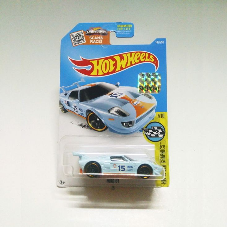Ford GT 2016 Hot Wheels Mainline 2016 HW Speed Graphics