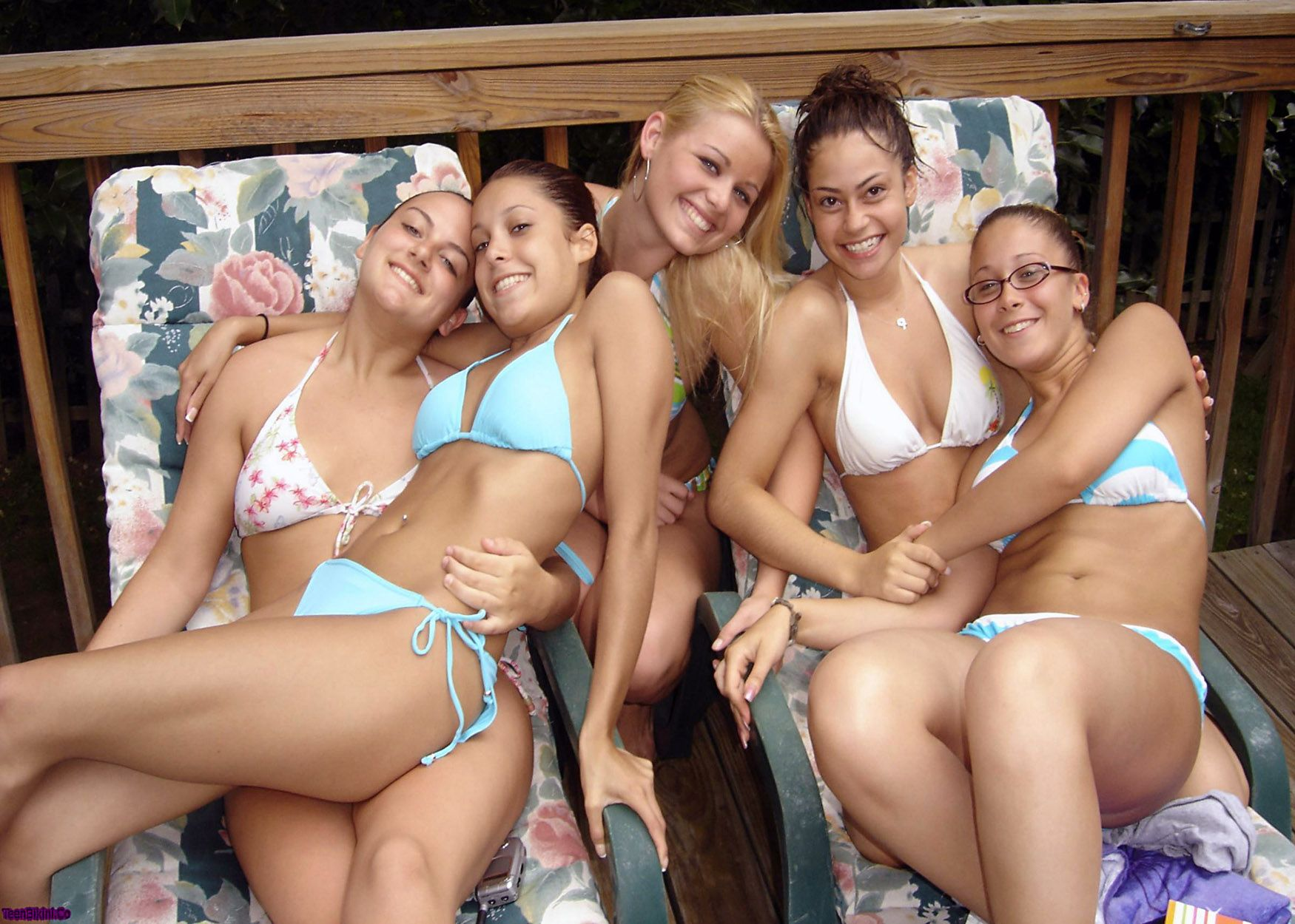 Group of Girls, Summer, Sun, Playing, Bikini, Bikinis | Free ...