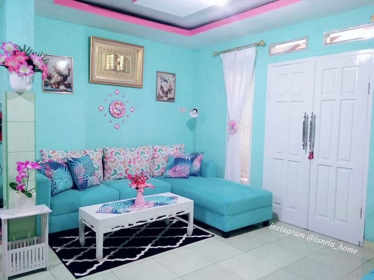16 Contoh Warna Cat Tembok Ruang Tamu Yang Bagus 2020 Dekor Rumah Ide Warna Cat Ruang Tamu Contoh Warna Cat Warna Ruang Tamu