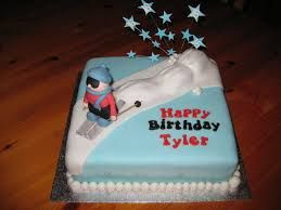 Image result for skiing cake Cake Decorating Pinterest Cake
