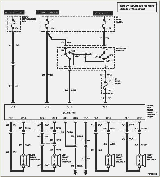 1999 Ford F250 Radio Wiring Diagram Database
