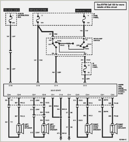 1999 ford f150 radio wiring diagram