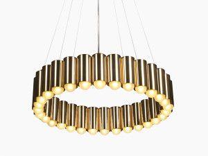 View Lee Broom Carousel Brass Pendant Light Brass Pendant Light Lee Broom Chandeliers And Pendants